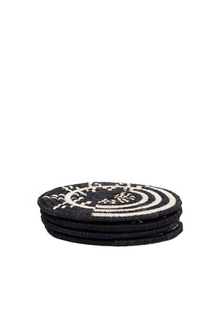 Black Mara Coasters, Set of 4