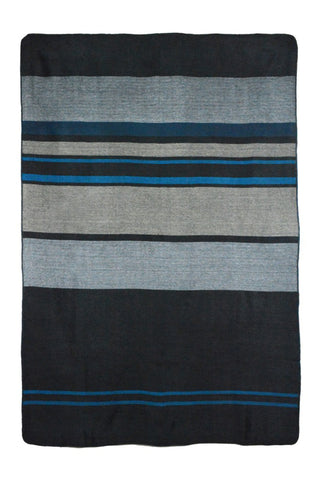 Modern Onyx Alpaca Throw & Blanket