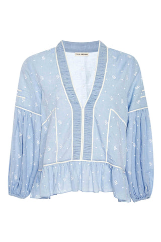 Etienne Embroidered Blouse