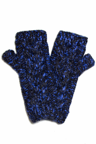 Manine Hand-Knit Fingerless Alpaca Glove