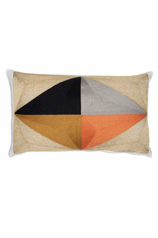 Heera Color Block Pillow