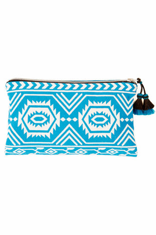 Vision Quest Turquoise Clutch