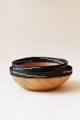 Copabu Small Black Wood Bowl