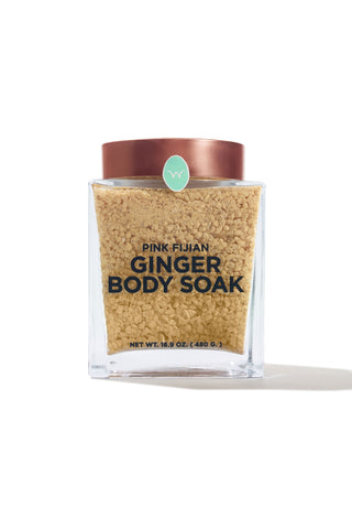 Pink Fijian Ginger & Sea Salt Body Soak