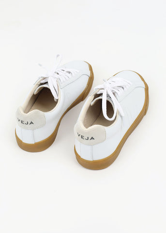 Esplar Extra White + Natural Sole Leather Sneaker