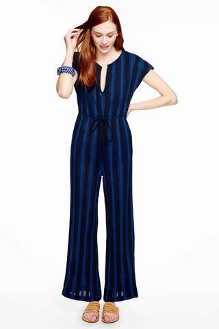 Suit Up Jumpsuit in Lunar