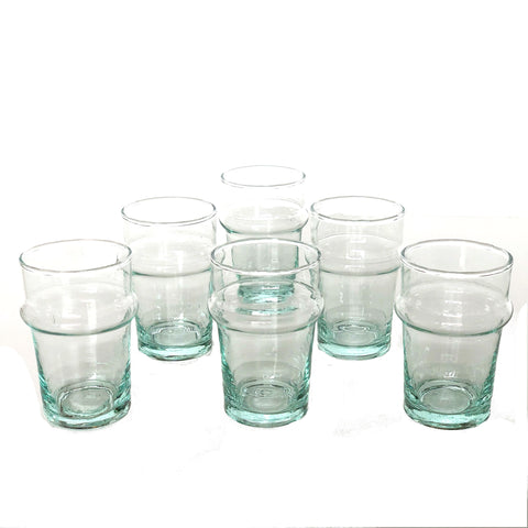 Beldi Moroccan Recycled Glass Cups