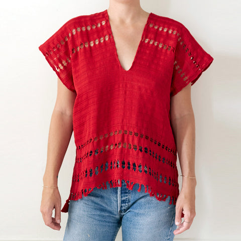 Red Caftan Shirt