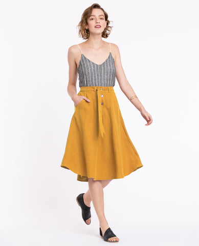 Clio Yellow Skirt