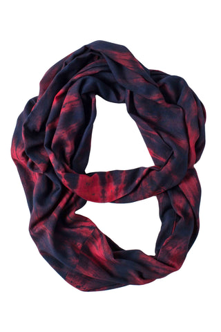Takuma Midnight Ruby Infinity Scarf