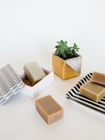 Handmilled Natural Soap Set