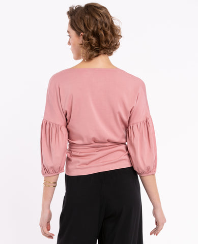 Ivy Dusty Pink Blouse