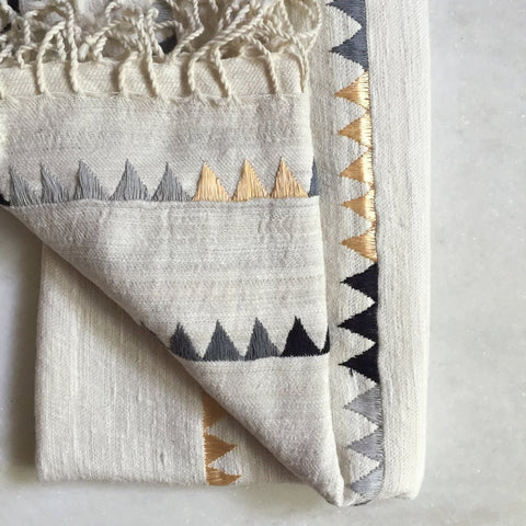 Katherine Embroidered Throws