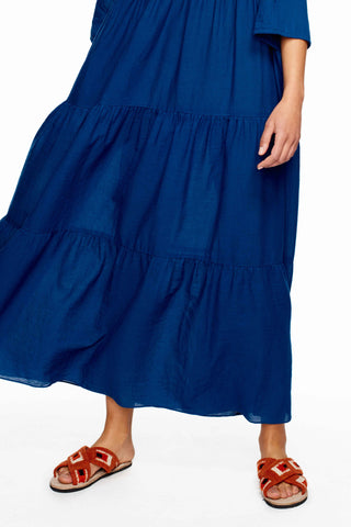 Tripoli Indigo Maxi Dress