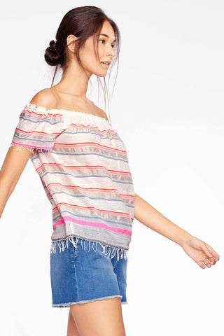 Hayat Off The Shoulder Top
