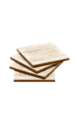 Ivory Chantilly Coasters