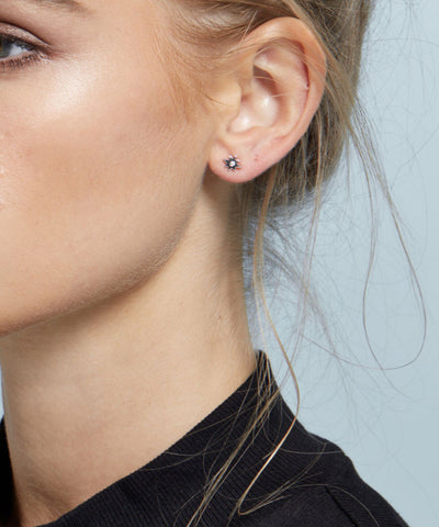 Micro Star Stud Earrings