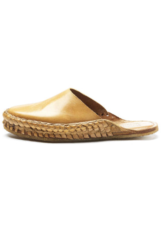 Mohinders Women's Solid Leather City Slippers