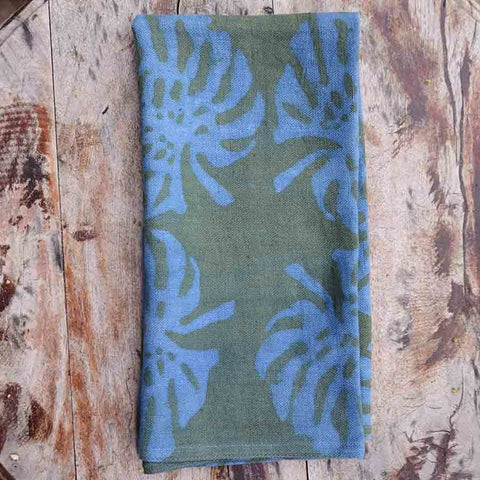 Palm Leaf Napkin Set