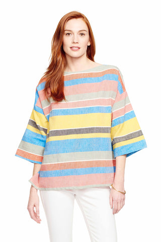 Huipile Kingston Stripe Top