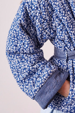 Sachi Quilted Floral Jacket