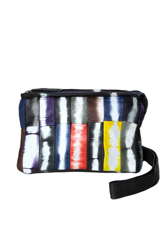 Astor Nappa Leather Multicolor Crossbody Pouch