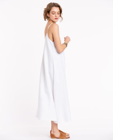 Shiva White Maxi Dress