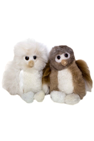 Alpaca Owl Animal Stuffie
