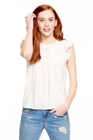 Victoria Frill Sleeve Top