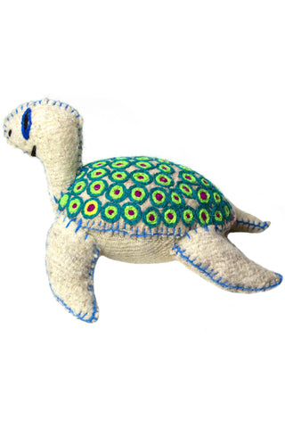 Wool Sea Turtle Stuffed Animal