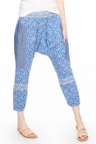 Suki Quilted Floral Pant