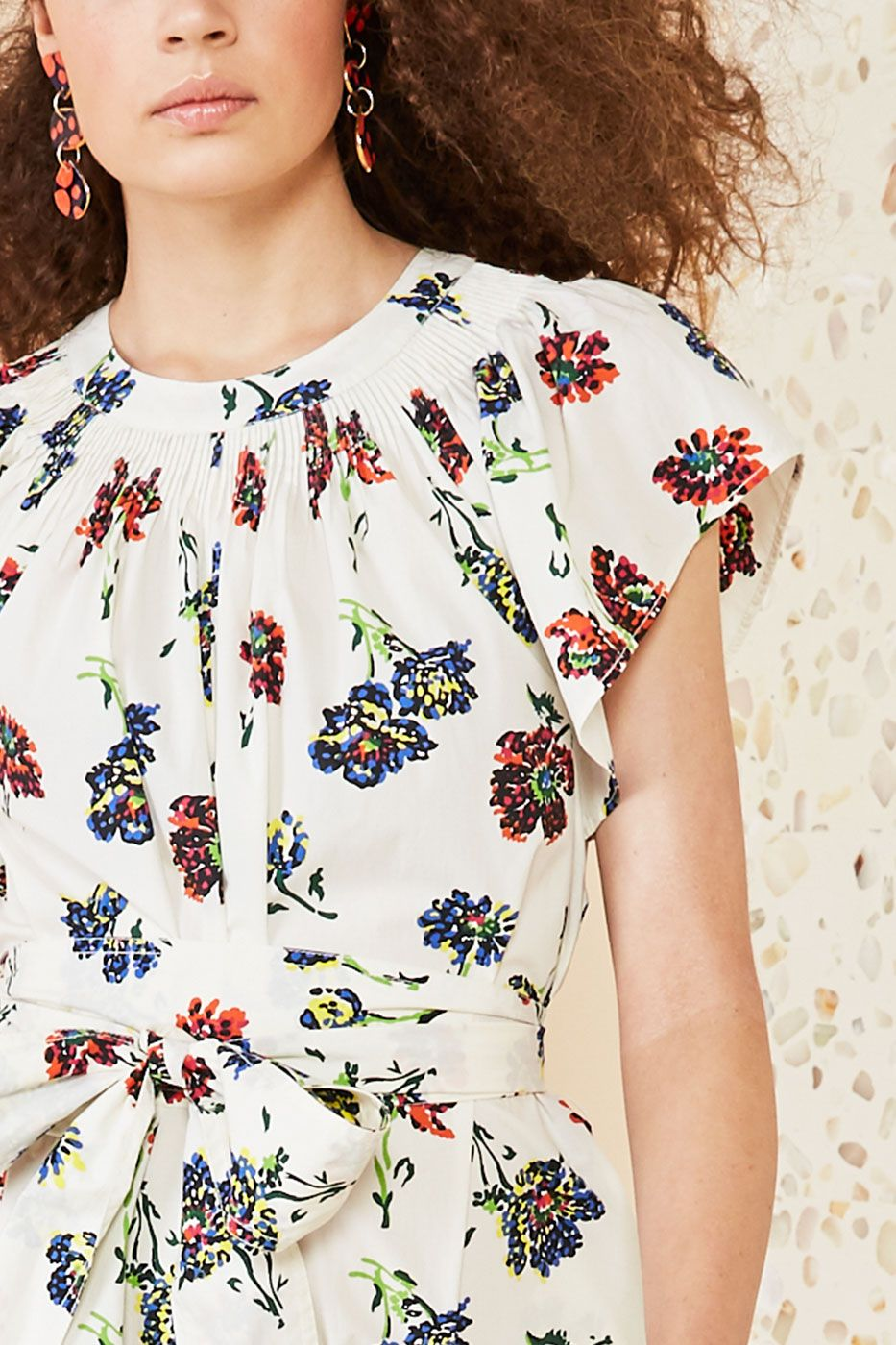 Clearance Clearance Clearance 2018 New Coralie Floral Jumpsuit Ulla Johnson Online For Sale HZEgYKU