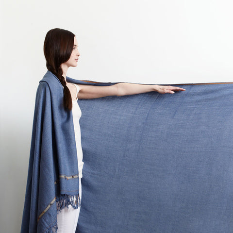Handwoven Soft Wool Throw