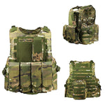 Gilet Tactique Airsoft Attache Rapide