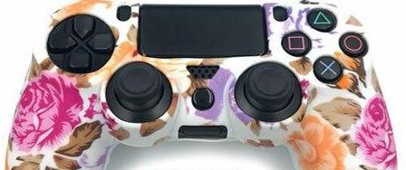 Coque de manette de ps4 motif rose | Univers Camouflage