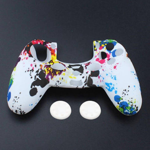 Coque de manette ps4 arc en ciel | Univers Camouflage