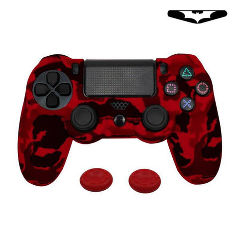 Coque de manette ps4 camouflage rouge | Univers Camouflage