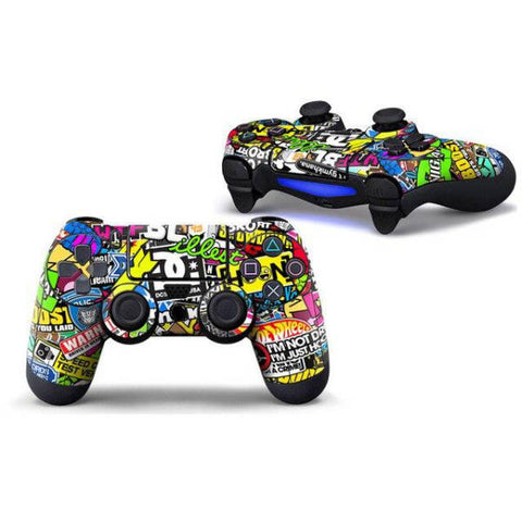 Coque de manette ps4 graffiti | Univers Camouflage