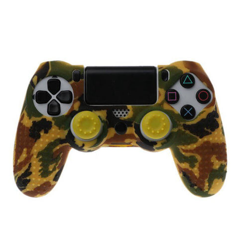 Coque manette ps4 camouflage jaune | Univers Camouflage
