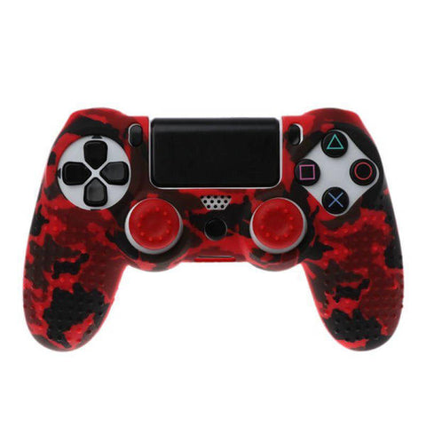 Coque manette ps4 red camouflage | Univers Camouflage