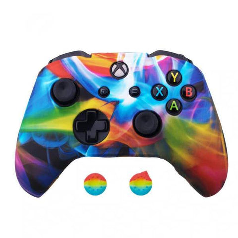 Coque manette xbox one arc en ciel | Univers Camouflage