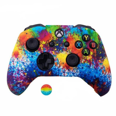 Coque manette xbox one art splash | Univers Camouflage