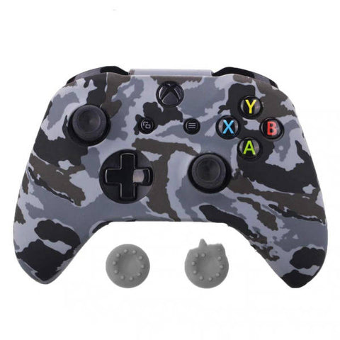 Coque manette xbox one camouflage gris | Univers Camouflage