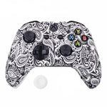 Coque manette xbox one feuilles blanche | Univers Camouflage