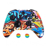 Coque manette xbox one graffiti bleu | Univers Camouflage
