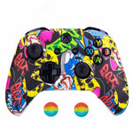 Coque manette xbox one graffiti colorée | Univers Camouflage