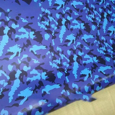 Covering camouflage bleu noir | Univers Camouflage