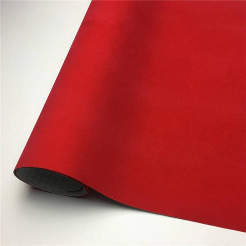 Covering voiture rouge mat | Univers Camouflage