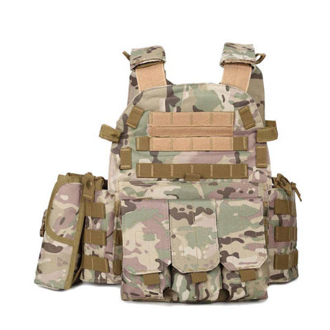 Gilet Tactique Airsoft Multicam | Univers Camouflage