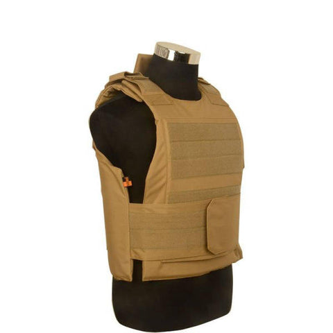 Gilet Tactique Airsoft Tan | Univers Camouflage